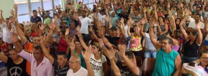 Funcionários da Cursan permanecem em greve em Cubatão, SP