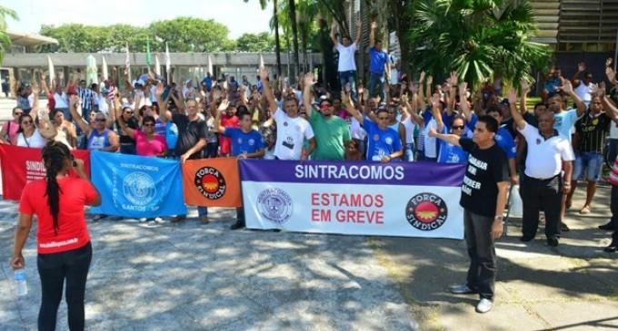 Trabalhadores da Cursan decidem manter greve em Cubatão, SP