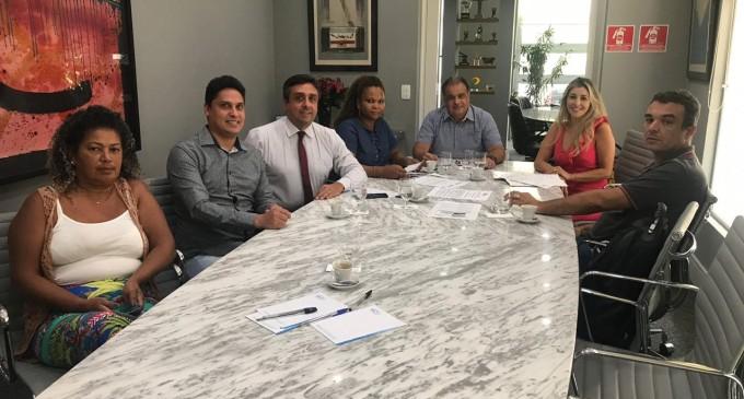 SINDILIMPEZA em reunião com sindicato patronal SEAC